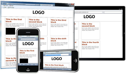 responsive design layout