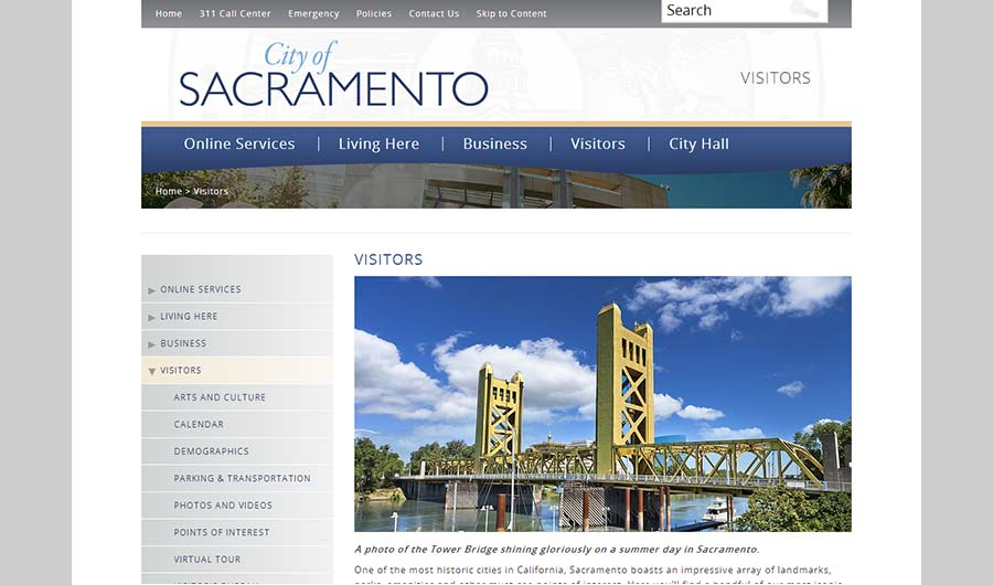 City of Sacramento California Sitecore Case Study