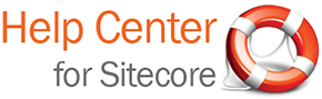 Help Center for Sitecore